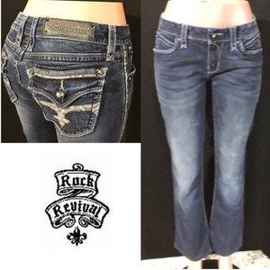 NWOT ROCK REVIVAL Leah Boot Skinny Jeans